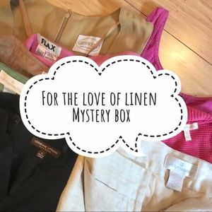 For the Love of Linen Mystery Box.